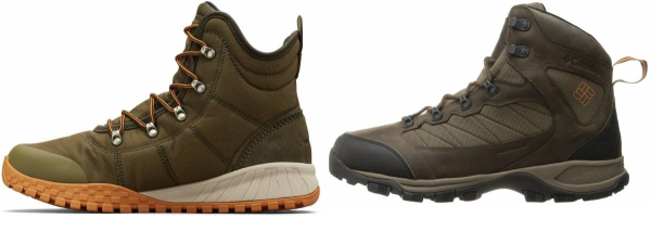 buy green columbia hiking boots for men and women