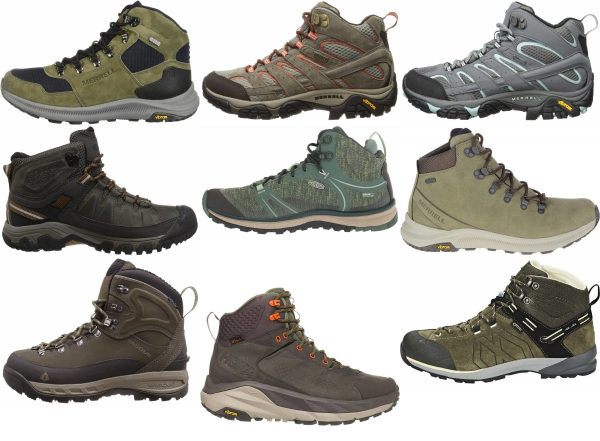 buy green hiking boots for men and women