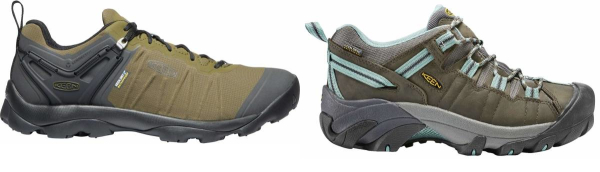 buy green keen hiking shoes for men and women