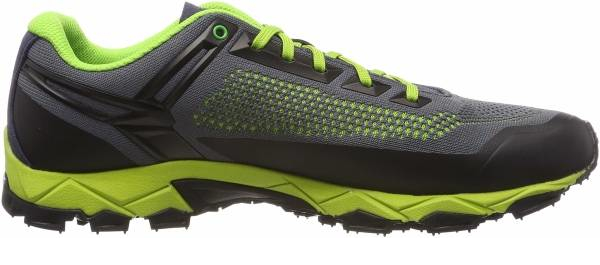buy green knit upper hiking shoes for men and women