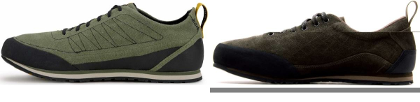 buy green lightweight approach shoes for men and women