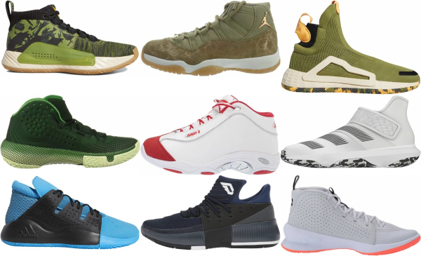 buy green mid basketball shoes for men and women