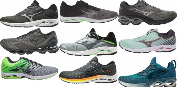 buy green mizuno running shoes for men and women