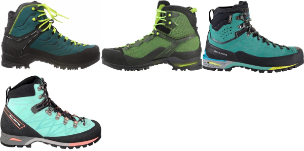 buy green mountaineering boots for men and women