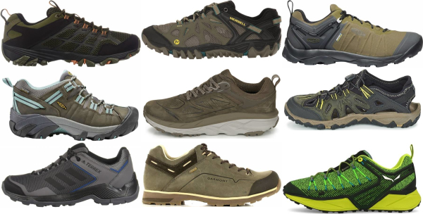 buy green neutral hiking shoes for men and women