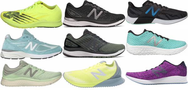 buy green new balance running shoes for men and women