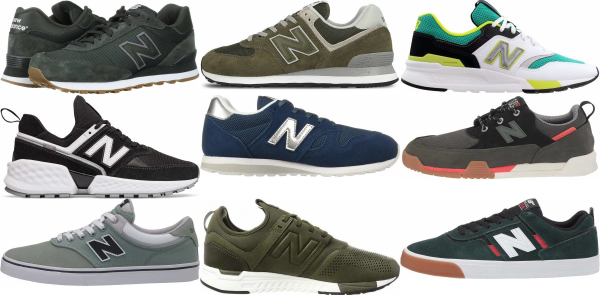 buy green new balance sneakers for men and women
