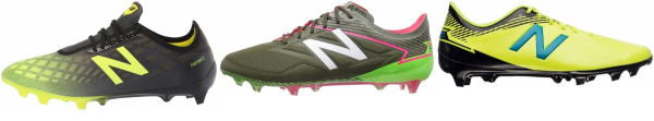 buy green new balance soccer cleats for men and women