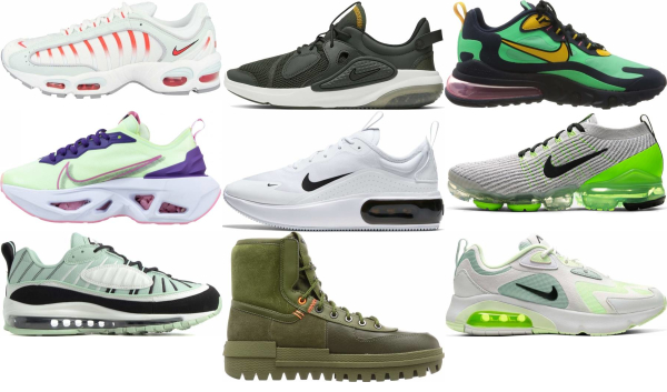 buy green nike sneakers for men and women