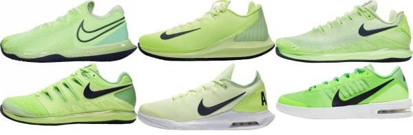 buy green nike tennis shoes for men and women