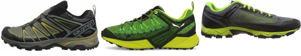 buy green ortholite hiking shoes for men and women