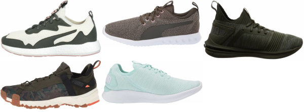buy green puma running shoes for men and women