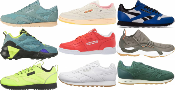 buy green reebok sneakers for men and women