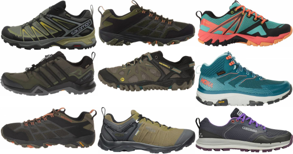 buy green rubber sole hiking shoes for men and women