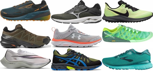 buy green running shoes for men and women