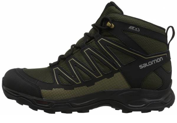 buy green salomon hiking boots for men and women