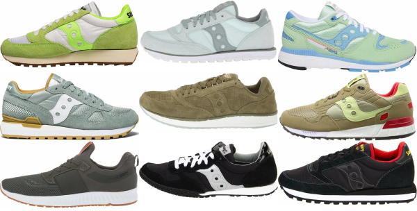 buy green saucony sneakers for men and women