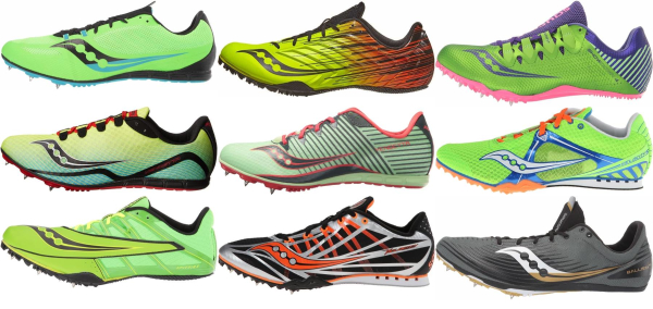 buy green saucony track & field shoes for men and women