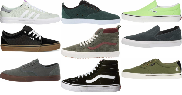 buy green skate sneakers for men and women