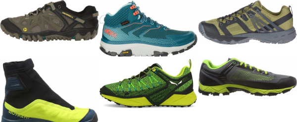 buy green speed hiking shoes for men and women