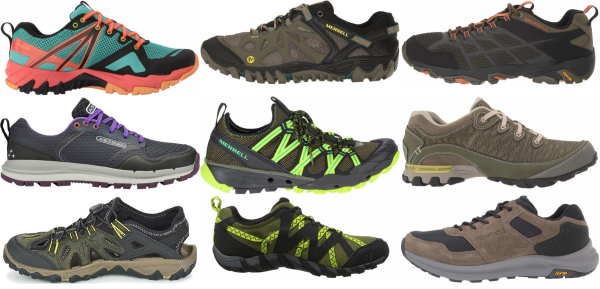 buy green summer hiking shoes for men and women
