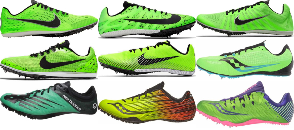 buy green track & field shoes for men and women
