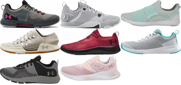 buy green under armour training shoes for men and women