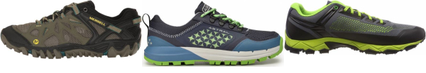 buy green vegan hiking shoes for men and women