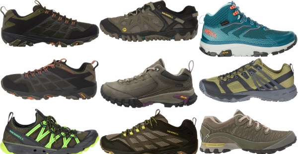 buy green vibram sole hiking shoes for men and women