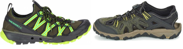 buy green water hiking shoes for men and women