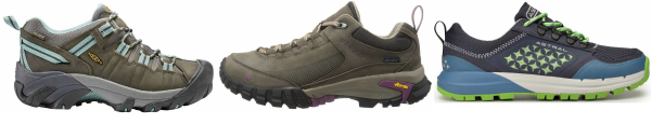 buy green wide toe box hiking shoes for men and women
