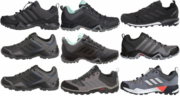 buy grey adidas hiking shoes for men and women