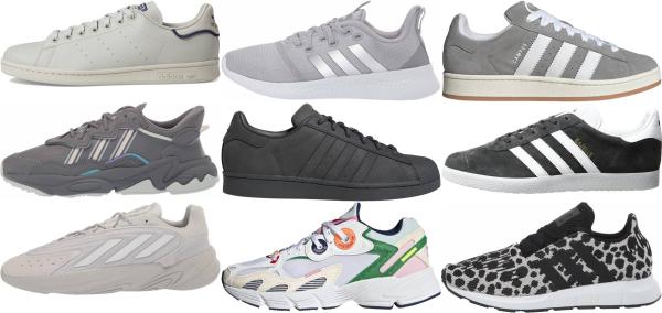 buy grey adidas sneakers for men and women