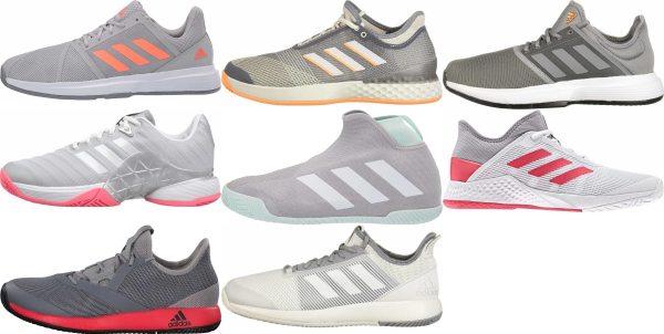 buy grey adidas tennis shoes for men and women