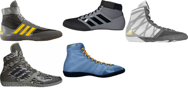 buy grey adidas wrestling shoes for men and women