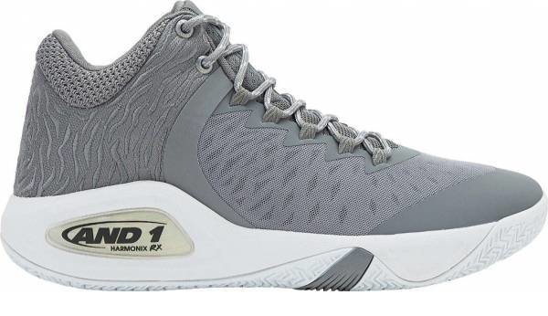 buy grey and 1 basketball shoes for men and women