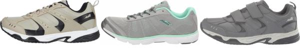 buy grey avia walking shoes for men and women