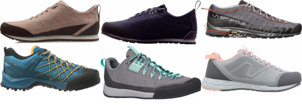 buy grey breathable approach shoes for men and women