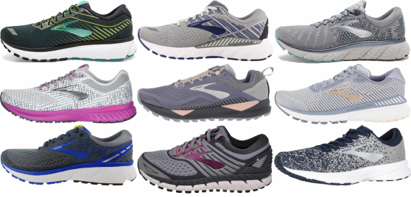 buy grey brooks running shoes for men and women