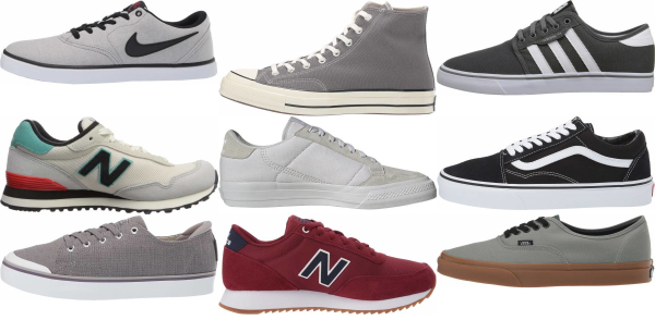 buy grey canvas sneakers for men and women