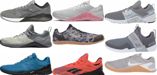 buy grey crossfit shoes for men and women
