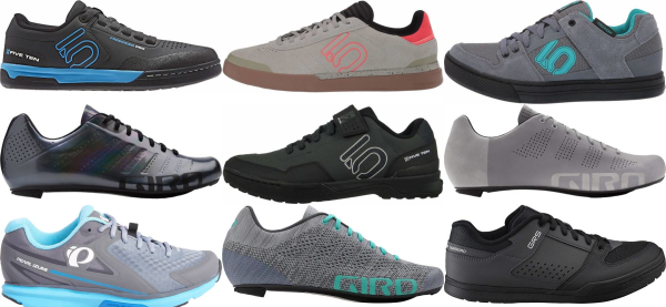 buy grey cycling shoes for men and women