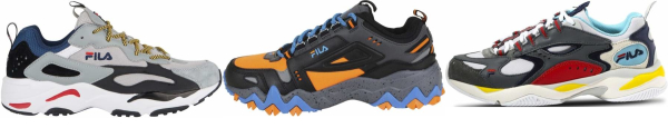 buy grey fila sneakers for men and women