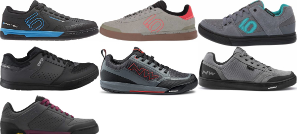 buy grey flat cycling shoes for men and women