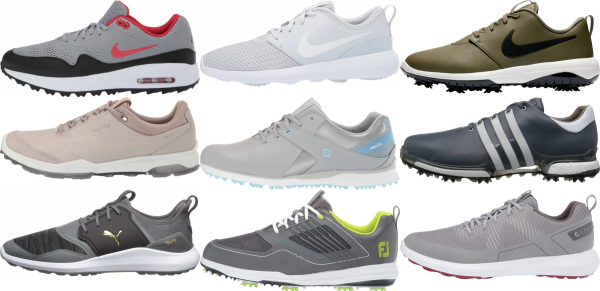 buy grey golf shoes for men and women