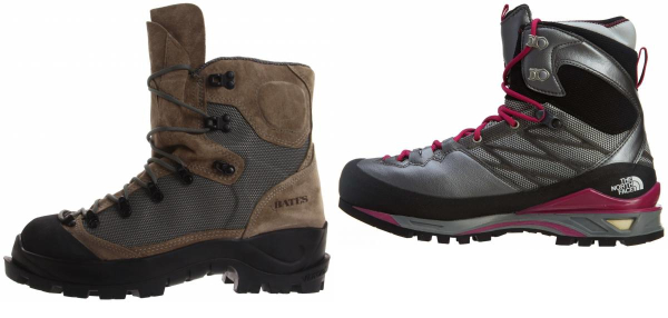 buy grey high cut mountaineering boots for men and women