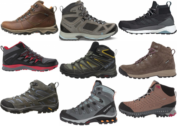 buy grey hiking boots for men and women
