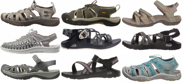 buy grey hiking sandals for men and women