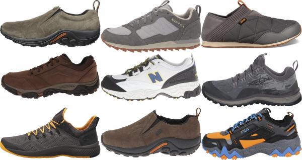 buy grey hiking sneakers for men and women