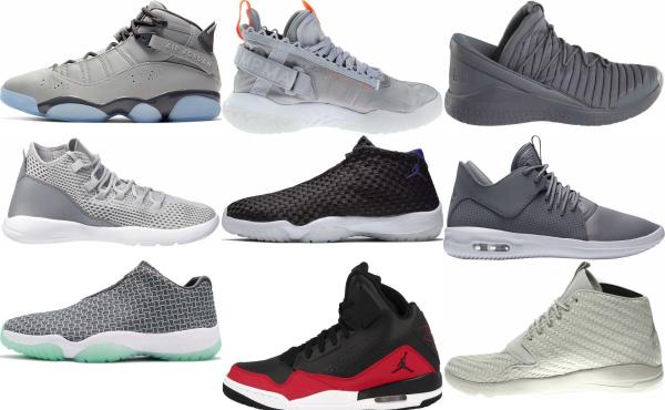 buy grey jordan sneakers for men and women